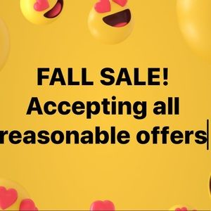 Fall sale!!! Send me offers